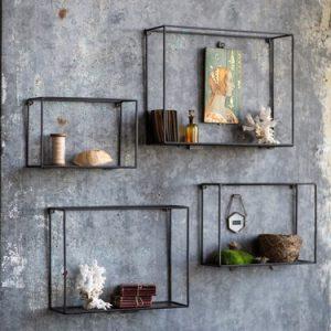 3-Metal Duvar Rafları
